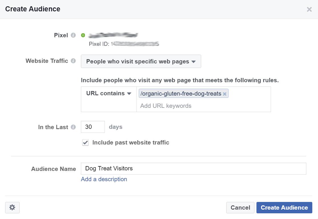 Facebook Marketing Tips: Retargeting Website Visitors Step 5
