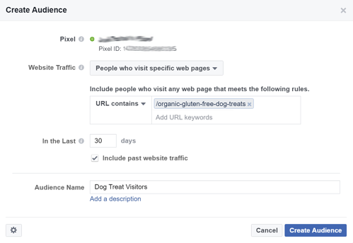 Facebook Marketing Tips: Retargeting Website Visitors Step 5