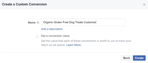 Facebook Marketing Tips: Tracking Conversions Step 4