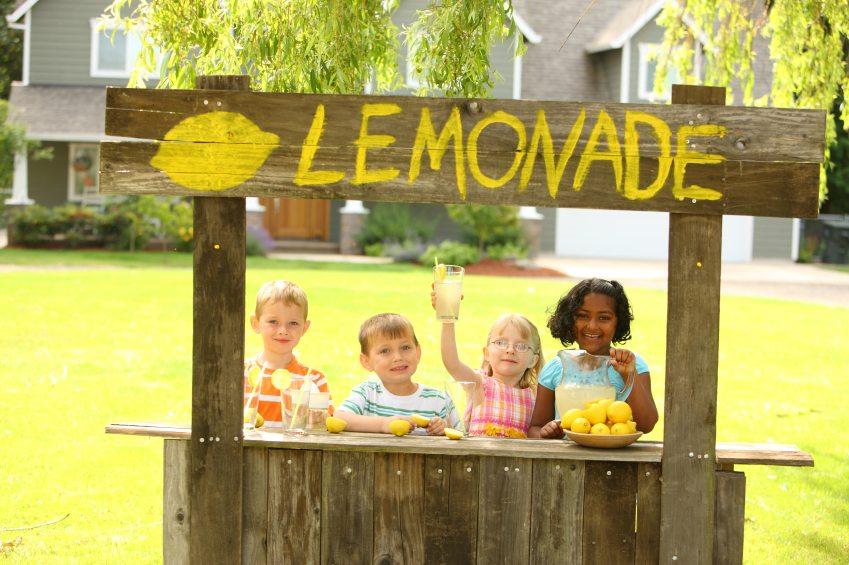 Entrepreneurial Lemonade Stand